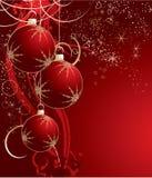 Het thema van Kerstmis. Stock Afbeelding