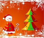 Het thema van Kerstmis. Royalty-vrije Stock Afbeelding