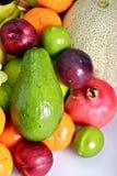 Het Thema van verse Vruchten Stock Foto