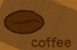 Het themaachtergrond van de koffie Royalty-vrije Stock Afbeeldingen