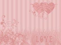 Het themaachtergrond van de liefde royalty-vrije illustratie