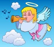 Het themabeeld 3 van de engel stock illustratie