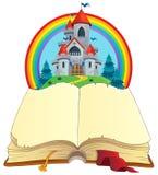 Het themabeeld 2 van het sprookjeboek stock illustratie