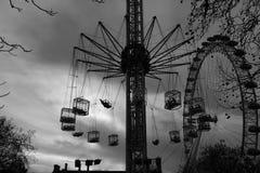 Het themapark van Londen stock foto