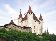 Het Thun-kasteel Royalty-vrije Stock Foto