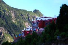 Het Tibetaanse Dorp van Danbajiaju Royalty-vrije Stock Fotografie