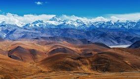 Het Tibetaanse landschap Stock Fotografie