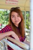 Het tienervrouw ontspannen Royalty-vrije Stock Afbeelding