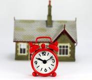 Is het Tijd te verkopen of te kopen! Stock Afbeeldingen