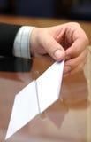 Het is tijd voor verkiezingen stock afbeelding