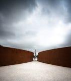 Het tijdelijke Beeldhouwwerk van de Installatie in Parijs Royalty-vrije Stock Afbeelding