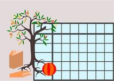 Het tijdschema van de kinderenschool royalty-vrije illustratie