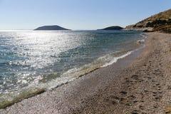 Het Timari-Strand stock afbeeldingen