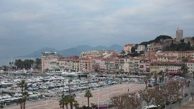 Het Time Lapse van Cannes stock videobeelden