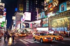 Het Times Square is een iconicplace van de Stad van New York Royalty-vrije Stock Fotografie