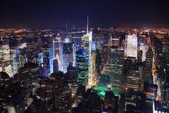 Het Times Square van de Stad van New York Stock Afbeeldingen