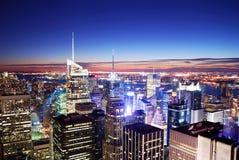 Het Times Square van de Stad van New York Stock Fotografie