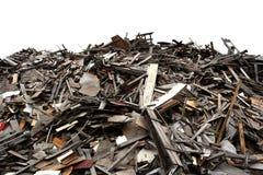 Het timmerhout van het schroot stock foto's