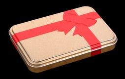 Het Tin van de gift stock foto's