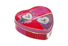 Het Tin van het hart Royalty-vrije Stock Foto's