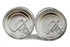 Het tin van het voedsel Stock Afbeeldingen