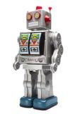Het tinrobot van het stuk speelgoed Royalty-vrije Stock Afbeeldingen
