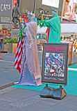 Het tippen in Times Square Stock Foto