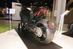 Het Titanium 2015 motorfiets van Ducatidiavel Stock Foto