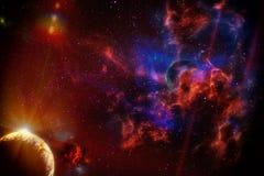 Het toenemen Planeten stock illustratie