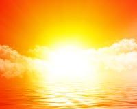 Het toenemen van de zon Royalty-vrije Stock Afbeelding