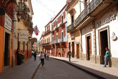 Het Toerisme van Guanajuatomexico Stock Foto