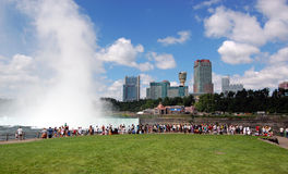 Het Toerisme van het Niagara Falls Royalty-vrije Stock Foto