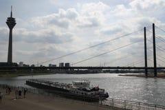 Het toerisme van Rijn Duitsland Royalty-vrije Stock Afbeeldingen