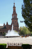 Het toerisme van Sevilla Stock Foto