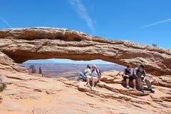 Het toerisme van Utah Stock Afbeeldingen
