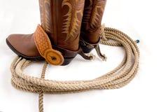 Het toestel van de cowboy Stock Foto's
