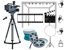 Het toestel van de film Stock Foto's