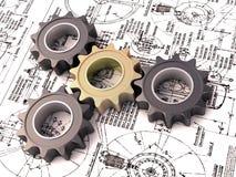 Het toestel van de pignon vector illustratie