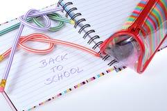 Het toestel van de school Stock Foto's