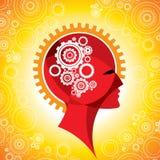 Het toestel van het hoofd en van hersenen Royalty-vrije Stock Fotografie