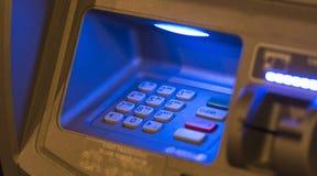 Het toetsenbord van ATM Royalty-vrije Stock Foto's