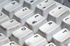Het toetsenbord van Azerty Royalty-vrije Stock Afbeeldingen