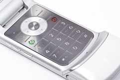Het Toetsenbord van Cellphone van Motorala Royalty-vrije Stock Foto