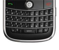 Het toetsenbord van de celtelefoon dichte omhooggaand royalty-vrije stock afbeelding