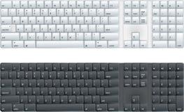 Het toetsenbord van de computer