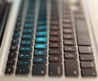 Het toetsenbord van de computer Stock Foto