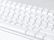 Het toetsenbord van de computer stock afbeelding