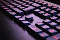 Het toetsenbord van de computer Stock Fotografie