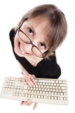 Het toetsenbord van de leraar Stock Fotografie