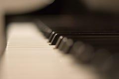 Het Toetsenbord van de piano Stock Afbeeldingen